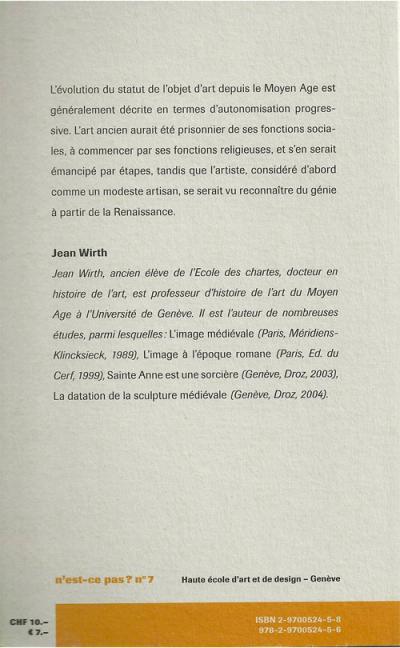 Jean Wirth - HEAD