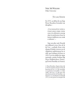 Histoires sociales de l'art – Une anthologie critique – Volume 1
