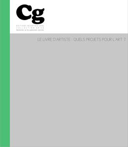 Le livre d'artiste : quels projets pour l'art