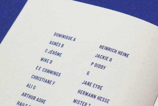 Julien Gineste - Alphabet - Editions Zeug