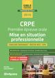 CRPE - Première épreuve orale - Mise en situation professionnelle De Michèle Guilleminot - Studyrama