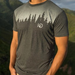 The new men's juniper t was inspired by the amazing tree lines you find in old growth forests. #tentree