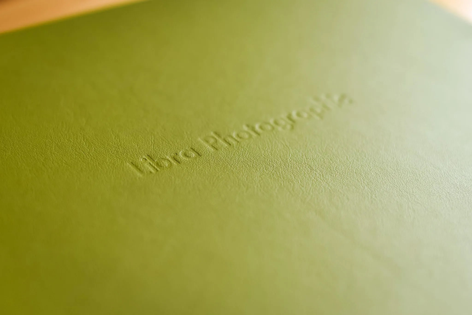 Apple Green wedding album