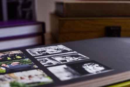 Leatherette Album page