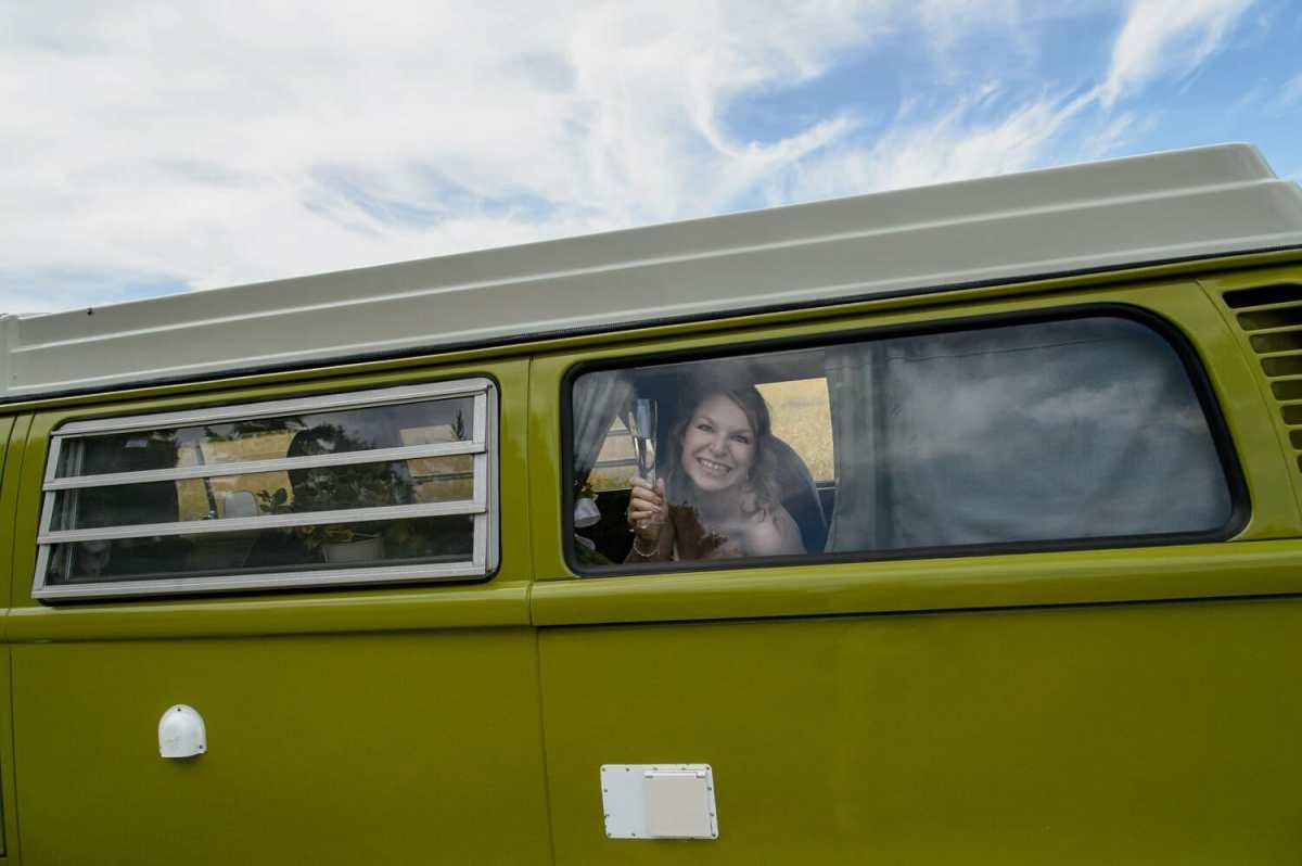 bride-in-dorset-campervan