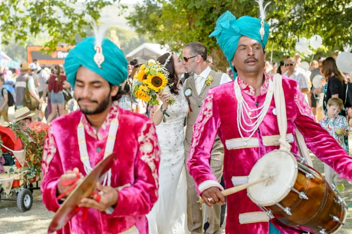 indian-wedding-march-at-festival