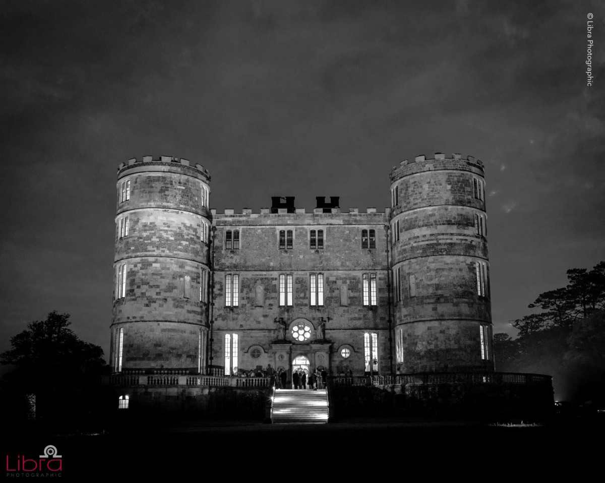 Lulworth Castle at night