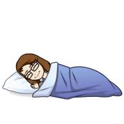 Bitmoji Sleeping