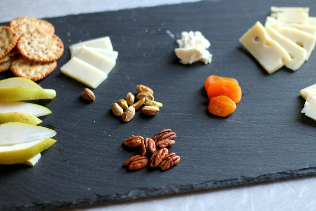 cheese fruit and nuts