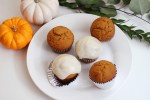 pumpkin-honey-cupcakes