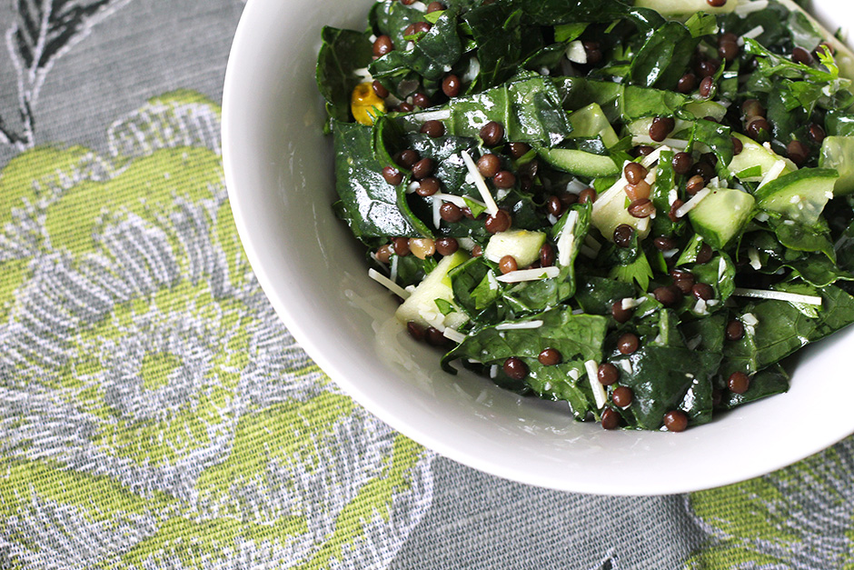 kale-salad-cucumber-parsley