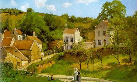 Pissarro A remetelak Pontoise-ban