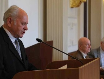 Kántor Lajos akadémiai székfoglalója – exkluzív