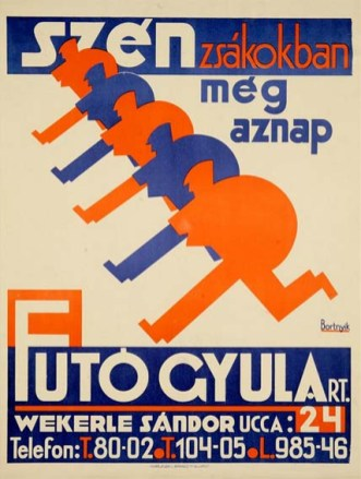 Bortnyik Sándor - Szén zsákokban (1926)