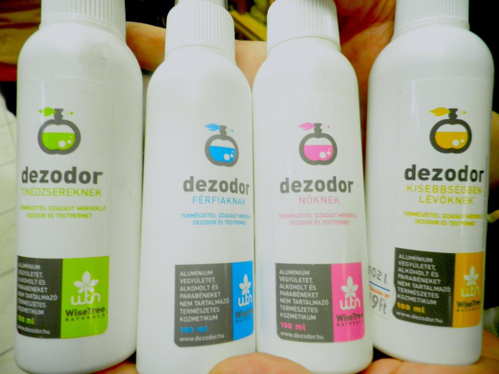 dezodor kisebbsegben levoknek