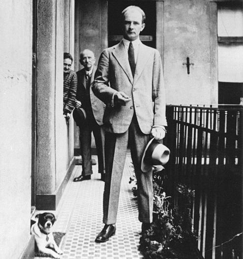 Hamvas Béla az 1920-as évek közepén