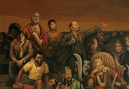 Platón, Cui Jian, a kínai rock'n'roll apja, Vladimir Lenin, Pavel Korchagin, Bill Clinton, Pelé, Guan Yu, II. Ramszesz.