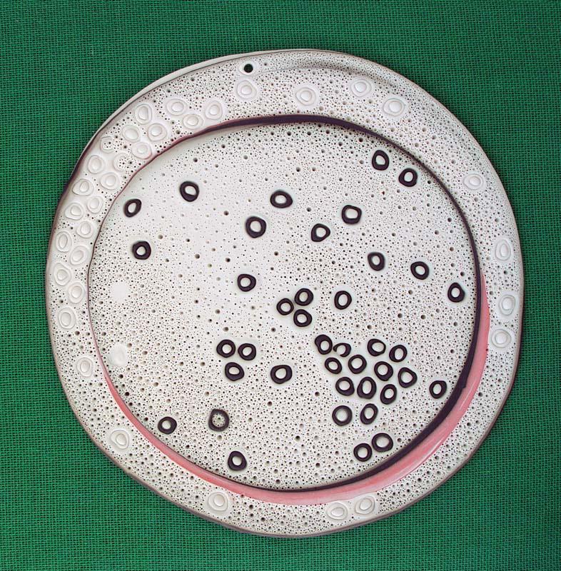 BOCIOC, Vioroca (Románia), Tanóra a körről, 2013, porcelán