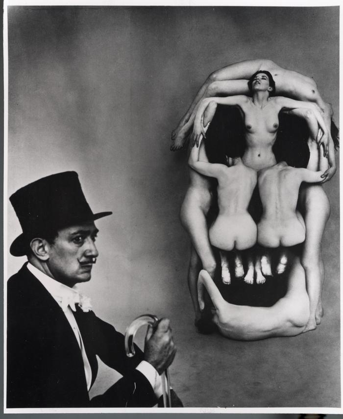 Halsman Philippe: Dali Koponyája, 1951.