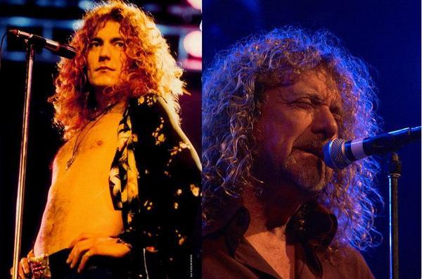 Robert Plant akkor… és most.