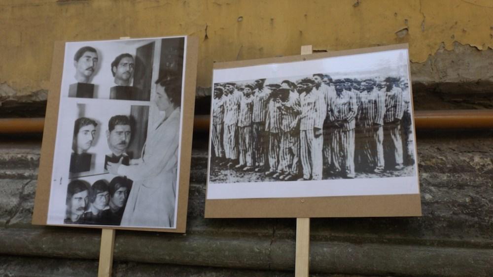 Fotó: Benedek Leila, holokauszt