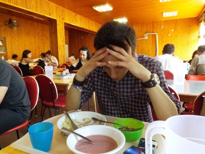 Biró Krisztián nem érti az ebédet