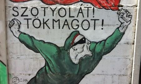 Belini fal a Szigetnél. - OOPS Partizán Street Session