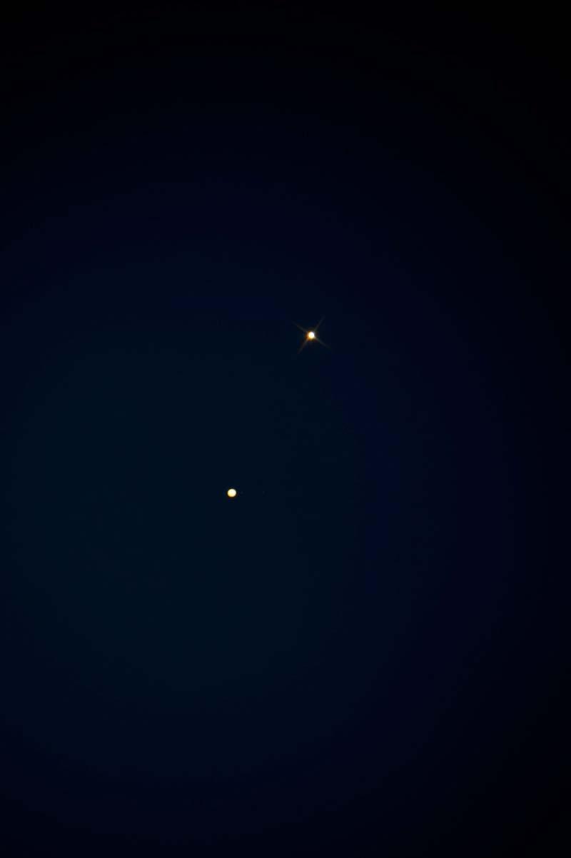 A Vénusz és a Jupiter együttállása