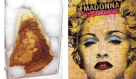 Madonna a pirítósomon? - paleidolia