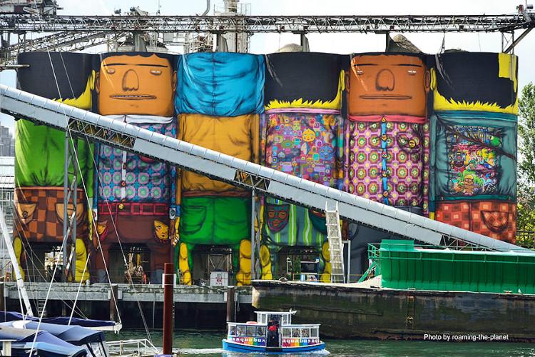 Gigantikus street art monstrumok Kanadában - graffiti