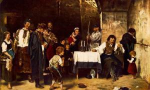 Munkácsy, krisztus pilátus előtt