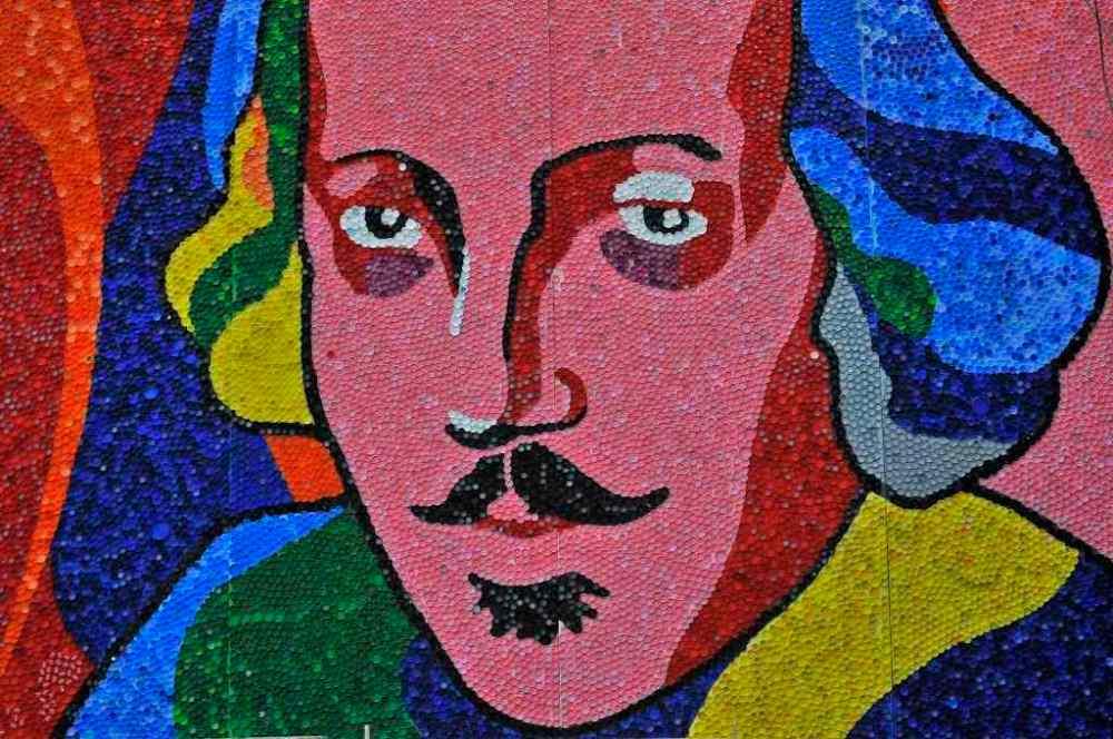Shakespeare kupak-mozaik (fotó: Dobos Klára)
