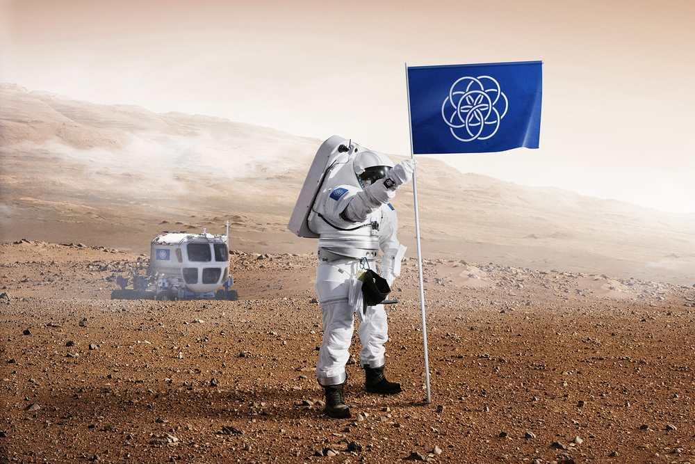 mars zászló