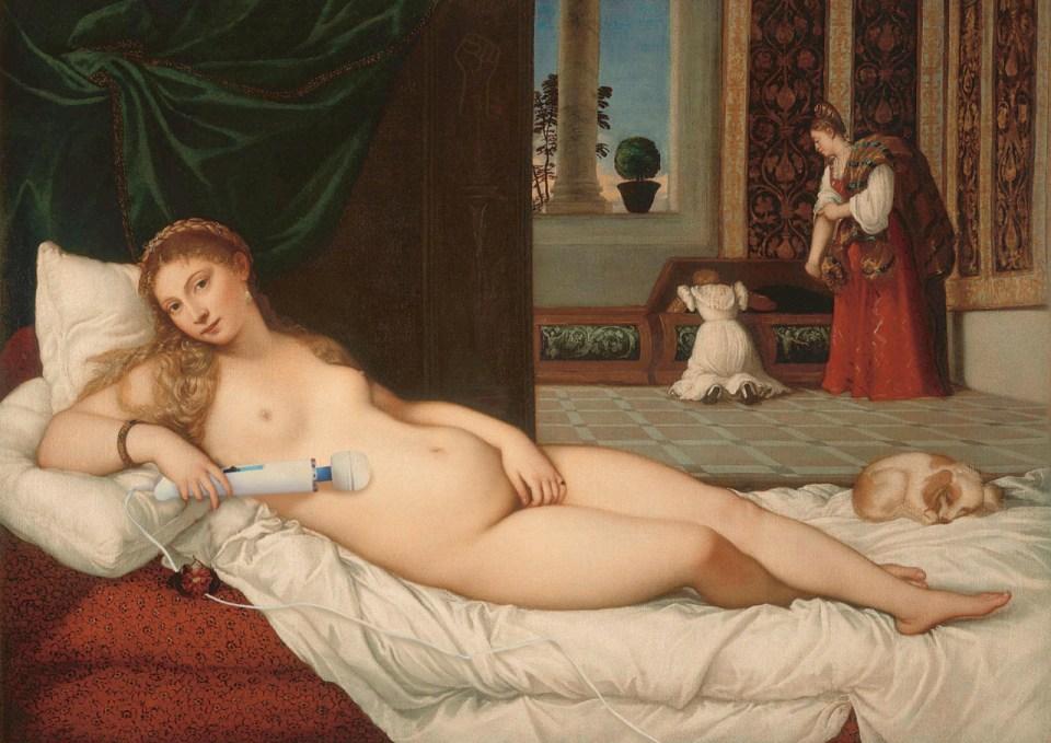 tiziano vénusz
