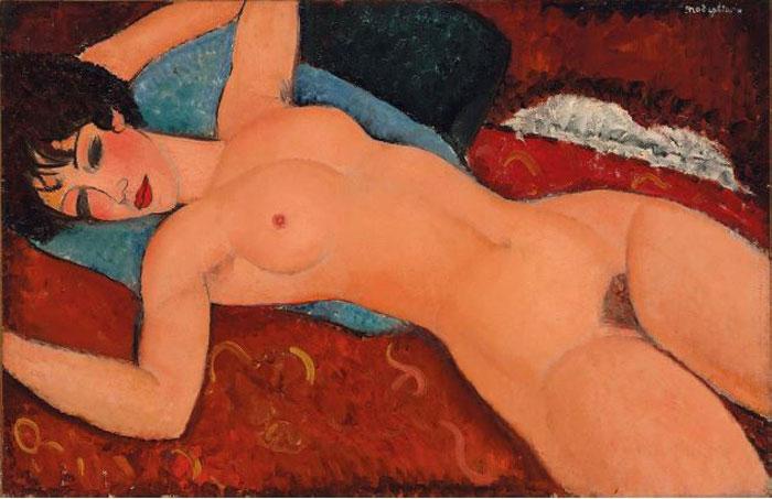 Modigliani Nu couché