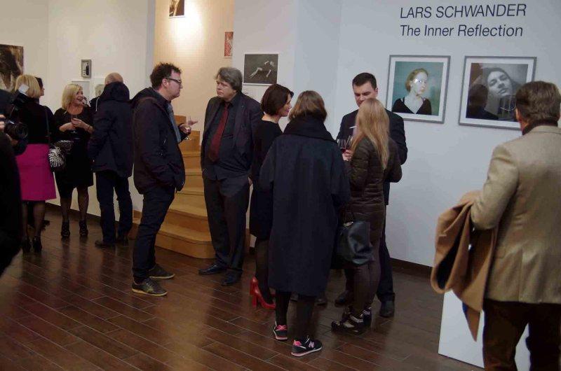 UVG Art Gallery- Lars Schwander Belső Reflexió című kiállítása - a szerző fotója