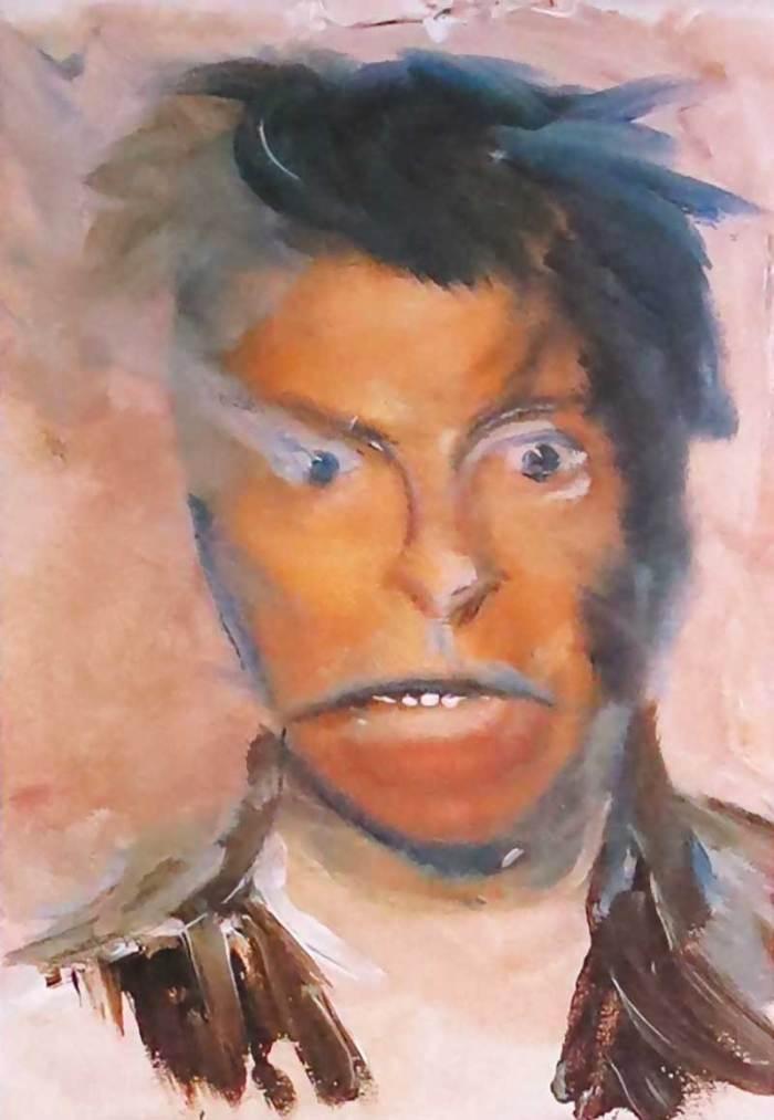 David Bowie festményei