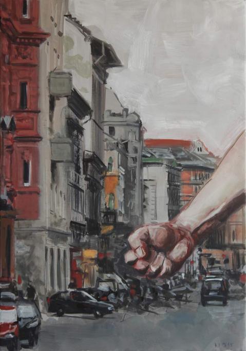 Nemes Csaba: Passion, 2015, 100x70