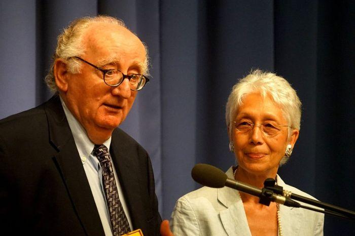Geiger András és Szöllősy Judit (fotó: BZSH/Szentgyörgyi Ákos)