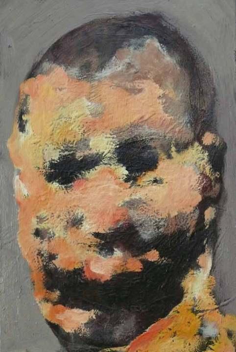 Egyszerű ember I. 2015, 60x40, olaj,vászon