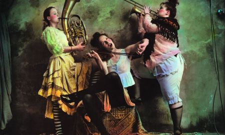 Jan Saudek: Ladies orchestra