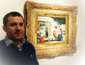 Czóbel körhintája több mint aukciós szenzáció! – interjú Barki Gergely művészettörténésszel