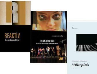 Hármas könyvbemutatón a multimédiáról és friss drámakötetekről