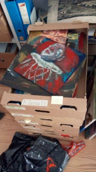 Festmények a lakásban