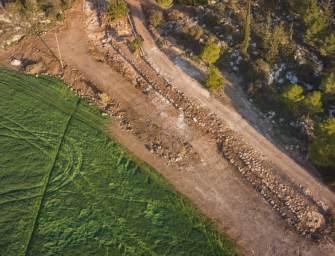 Találtak egy 2000 éves utat