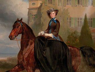 Elárverezik a 15 éves Sissi királynéról készült festményt