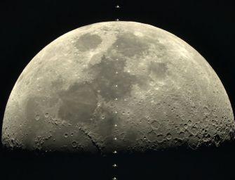 Nézd meg a Holdat úgy, ahogy az űrállomáslakó látja! VIDEO+