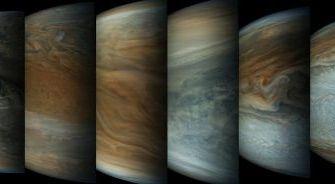 Lélegzetelállító, részletgazdag, friss képek a Jupiterről