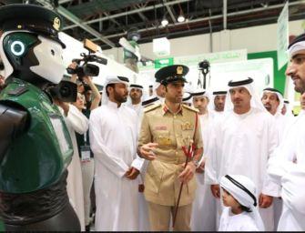 Dubajban szolgálatba állt az első valódi robotzsaru