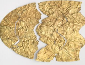 Gombász találta meg Kárpát-medence Akhilleuszának aranyvértjét